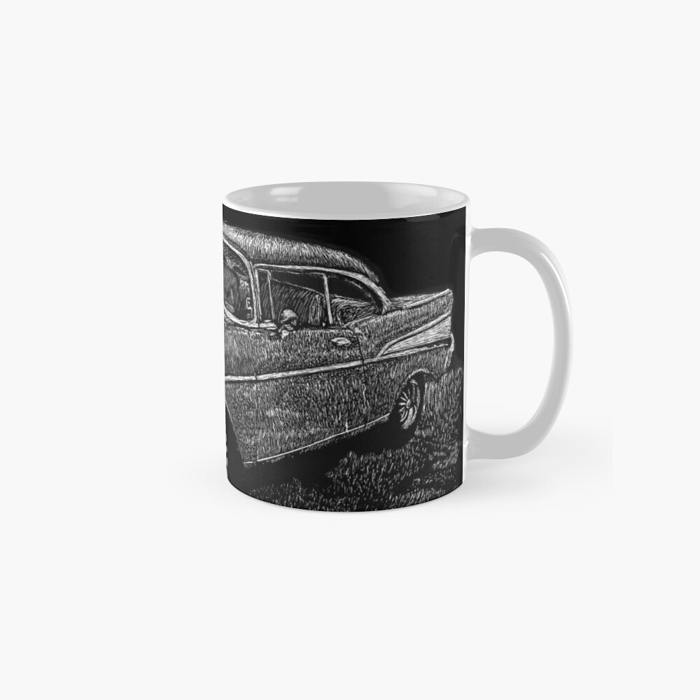 '57 Chevy Scratchboard Mug