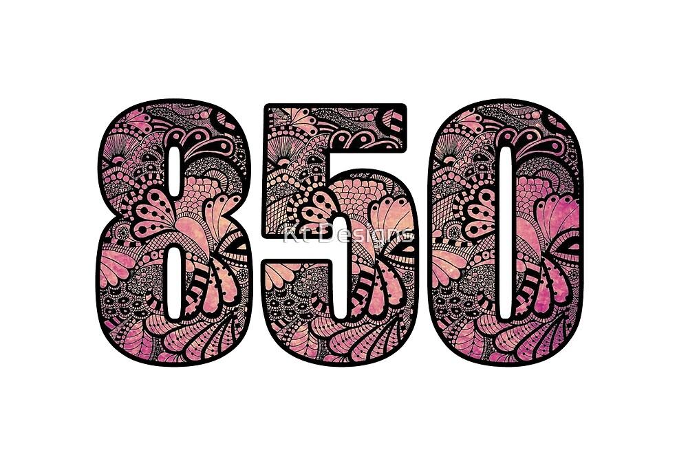 Area Code Doodle By Kt Farello Designs Redbubble - 850 area code
