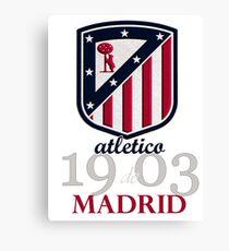 Lienzo Club de fútbol del Atlético de Madrid