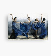 Sequential Dancer Canvas Print