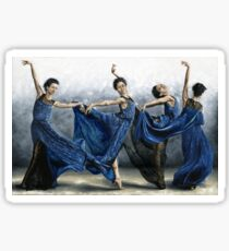 Sequential Dancer Sticker