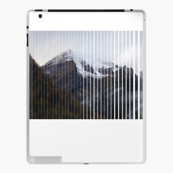 snow moody , snow, mountain ,moody mountain , gift for you  iPad Skin