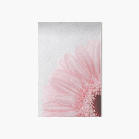 Pink Rose Flower  Art Board Print