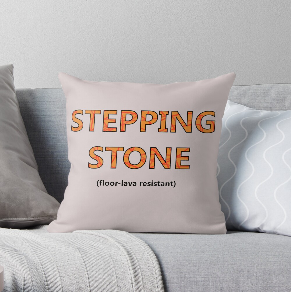 Lava Resistance Throw Pillow