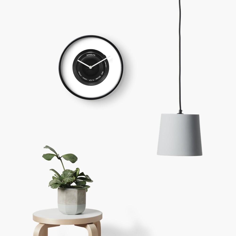 Minolta 50mm: Date The Body - Marry The Glass Clock