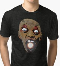 I have a universe in my mouth.. Tri-blend T-Shirt