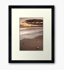 Washed Up By the Sea Framed Print