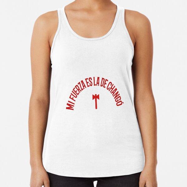 Changó, Shangó o Santa Bárbara. Frase sobre Changó para todos sus hijos Camiseta con espalda nadadora