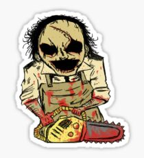 Leatherface. The Texas Chainsaw Massacre Sticker