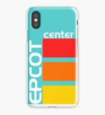 Epcot Center Turquoise Design  iPhone Case/Skin
