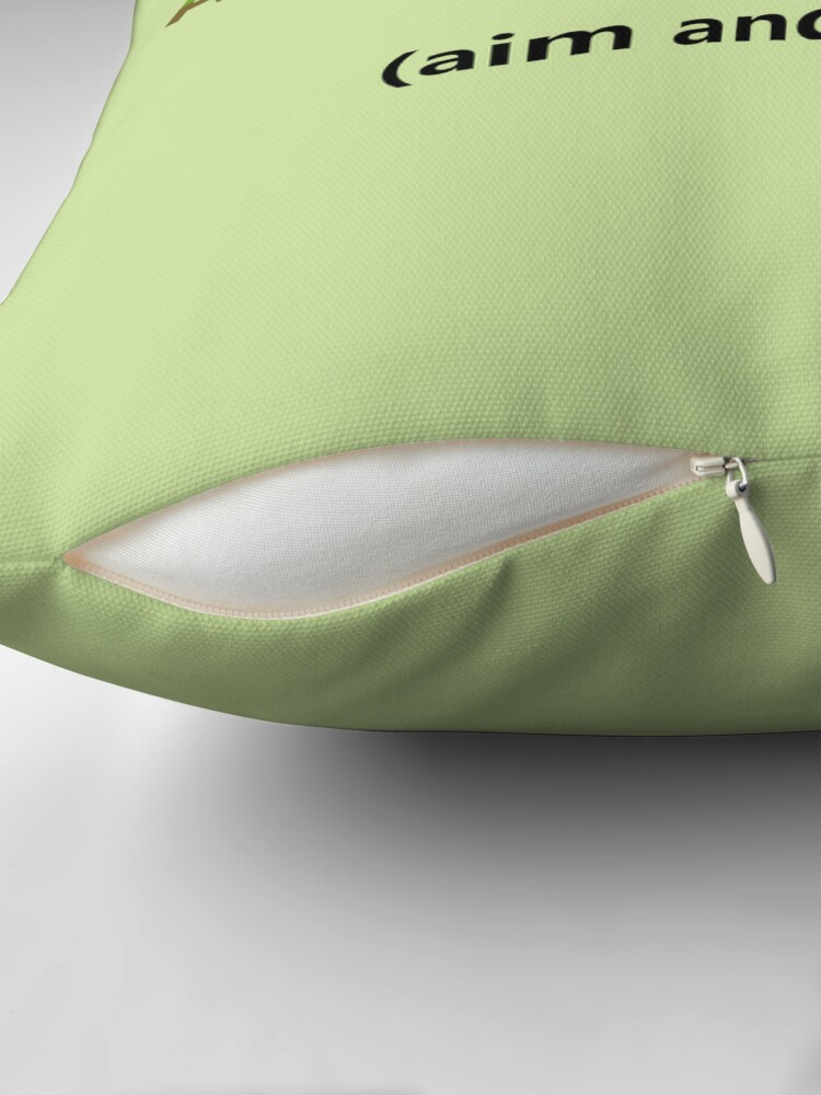 Alternate view of Anti-Annoyance Device Throw Pillow
