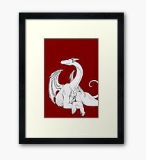 Dragon in Light Framed Print
