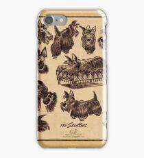 15 scotties iPhone Case/Skin