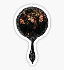 PVRIS in mirror Sticker