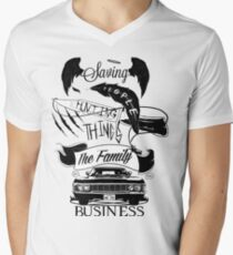The Family Business Men's V-Neck T-Shirt