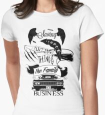 The Family Business Women's Fitted T-Shirt