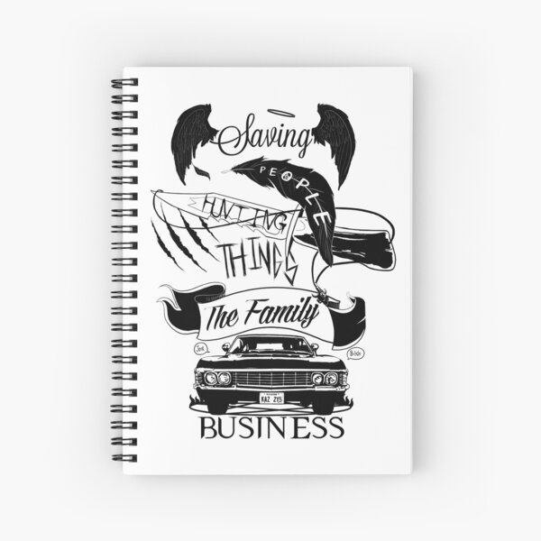 The Family Business Spiral Notebook