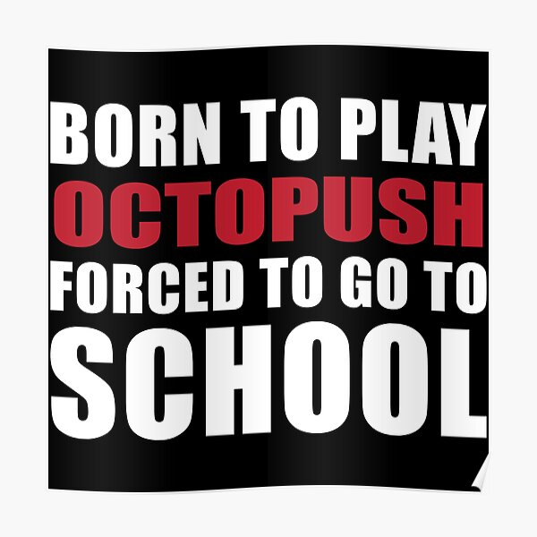 Born to Play Octopush  Poster