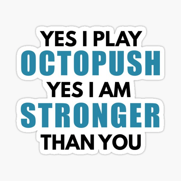 Octopush Players Are Stronger Sticker