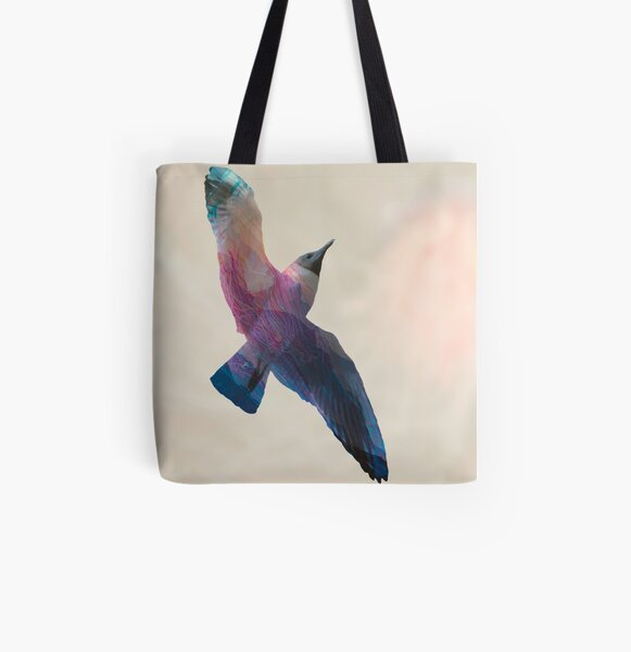 Seagull  All Over Print Tote Bag