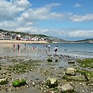 Low Tide In Lyme Dorset UK by lynn carter
