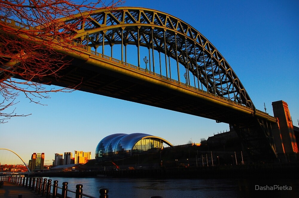 Tyne Bridge by DashaPietka