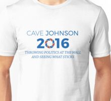 Cave Johnson For President Alt Unisex T-Shirt
