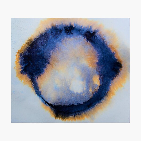Enso of life Photographic Print