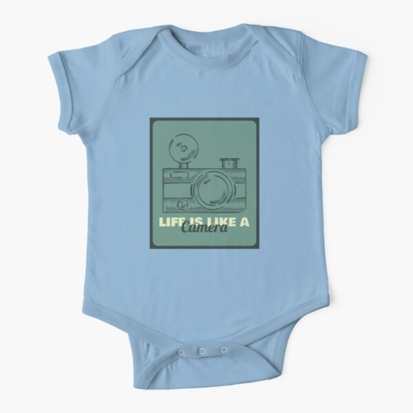 LIFE Short Sleeve Baby One-Piece
