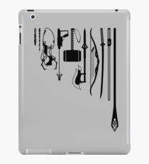 iconic weapons iPad Case/Skin