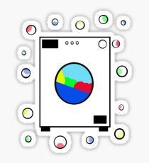 Washing machine  Sticker