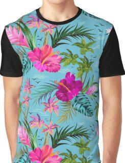 Hello Hawaii, a stylish retro aloha pattern. Graphic T-Shirt