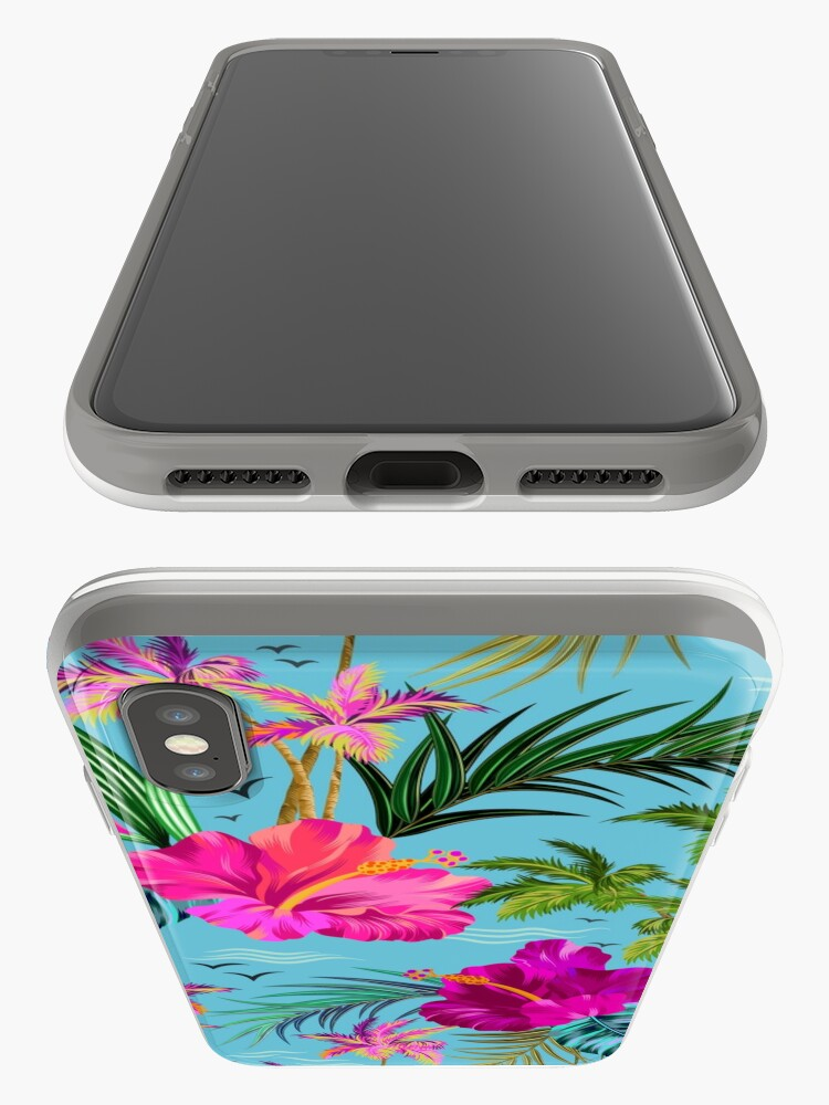 Alternate view of Hello Hawaii, a stylish retro aloha pattern. iPhone Cases & Covers