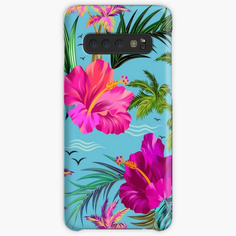 Hello Hawaii, a stylish retro aloha pattern. Case & Skin for Samsung Galaxy