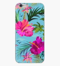 Hallo Hawaii, ein stilvolles Retro-Aloha-Muster. iPhone-Hülle & Cover