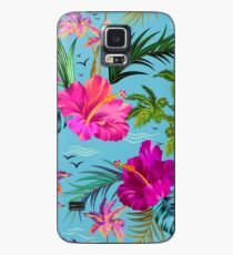 Hello Hawaii, a stylish retro aloha pattern. Case/Skin for Samsung Galaxy