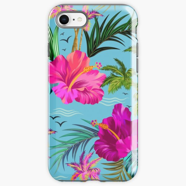 Hello Hawaii, a stylish retro aloha pattern. iPhone Tough Case