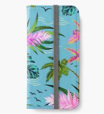 Hello Hawaii, a stylish retro aloha pattern. iPhone Wallet/Case/Skin