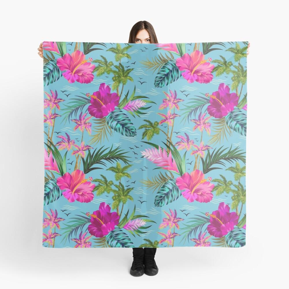 Hallo Hawaii, ein stilvolles Retro-Aloha-Muster. Tuch