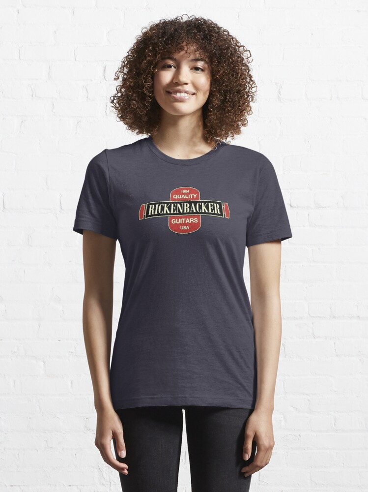 Alternate view of Vintage Rickenbacker Guitars 1964 Essential T-Shirt