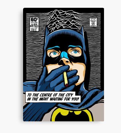 Post-Punk Heroes | Dark Canvas Print