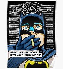 Post-Punk Heroes | Dark Poster