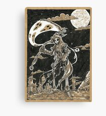 Death Of Planet RUST Canvas Print
