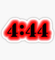 Angel Number 4:44 Sticker
