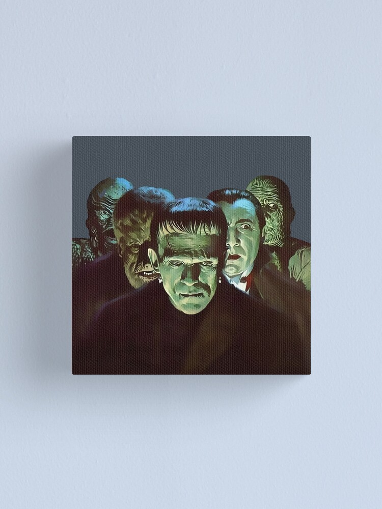 Alternate view of Gang of Monsters  Canvas Print