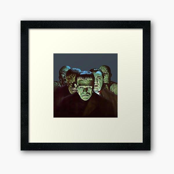 Gang of Monsters  Framed Art Print