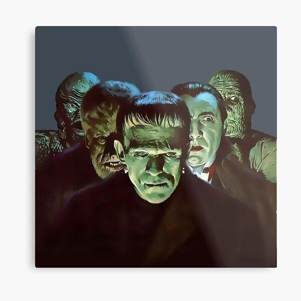 Gang of Monsters  Metal Print