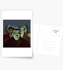 Gang of Monsters  Postcards