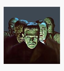 Gang of Monsters  Photographic Print