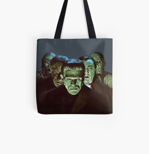 Gang of Monsters  All Over Print Tote Bag